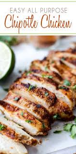 Chicken Main Dish - easy all purpose chipotle chicken