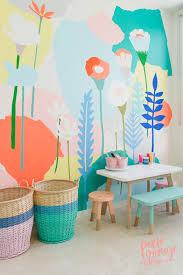 Original Name Salas De Brincar Pinterest Kidsroom Flower - Wall paint for kids room
