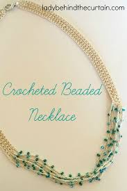 necklace pattern images Crocheted beaded necklace pattern jpg