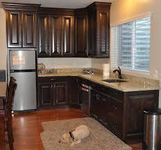 walnut kitchen cabinets modern silver stove modern cabinet island kitchen dark walnut kitchen cabinets brown wood cupboard gold iron knob white