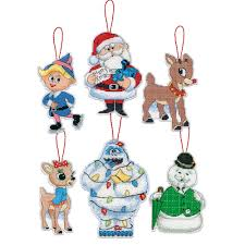 rudolph ornaments counted cross stitch 70 08958 dimensions