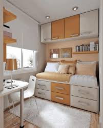 Flooring Designs For Bedroom Storage Solutions For Small Bedroom Classic Brown Wooden Floor