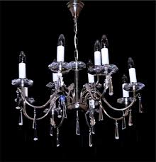 Crystal And Chrome Chandelier Maria Theresa Crystal Chandelier Brass U0026 Strass Chandeliers