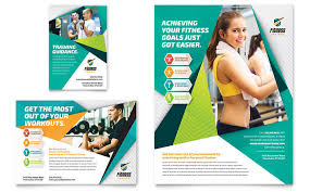 sports u0026 fitness print ads templates u0026 designs