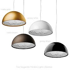 white dome pendant light flos skygarden 23 6 35 4inch modern hanging l by marcel wanders