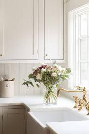 antique white kitchen cabinets brass kitchen cabinet custom paint color julie blanner
