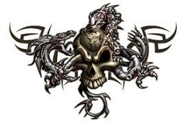tribal skull tattoos tattoo collections