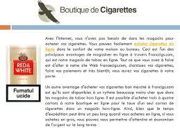 bureau de tabac en ligne les cigarette rabais en ligne ppt télécharger