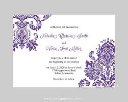Wedding Template Invitation Invitation Templates Word Free Pacq Co