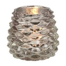 pine cone tea light holder rustic gold pinecone glass tea light candle holders set of 4