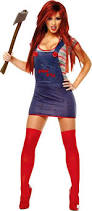 Scary Halloween Costumes Girls 25 Chucky Costume Ideas Chucky Bride Costume