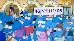 Hillary Clintons House The Simpsons Foreshadow Hillary White House