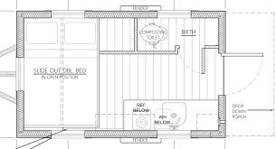 Do It Yourself Floor Plans by An Affordable Tiny House Design To Take Off The Grid Or Into The
