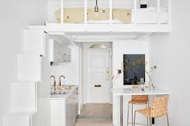 Bunk Bed For Small Spaces Extraordinary Small Space Loft Bed Of Decorating Spaces Set