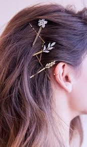 decorative bobby pins bobby pins gold hair hair pins hair accessories