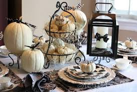 55 and stylish black and white thanksgiving décor ideas