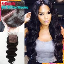 7a closure free shipping brazilian hair closure free middle 3 side