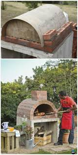 Backyard Brick Pizza Oven Best 25 Diy Pizza Oven Ideas On Pinterest Pizza Oven For Grill