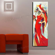 painting for home decoration hand painted girl back sexy oil painting modern home decor canvas