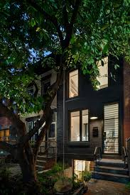 narrow row house and expansion of a narrow home located in brooklyn new york