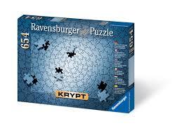 amazon com krypt silver 654 piece blank puzzle challenge varios