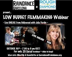 Webinar Meme - low budget filmmaking webinar with hollywood producer julia verdin