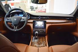 maserati car interior 2017 2017 maserati quattroporte interior dashboard at 2016 bologna