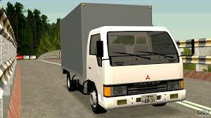 mitsubishi truck canter mitsubishi fuso canter 1989 aluminium van for gta san andreas