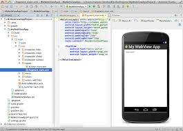 android studio ui design tutorial pdf getting started webview based applications for web developers