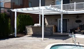 Louvered Patio Roof Equinox Louvered Roof Gallery Mr Enclosure Michigan Sunrooms