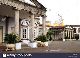dutch colonial architecture semarang java indonesia stock photo