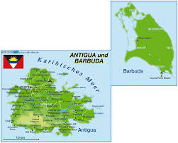 Cocoa Beach Map Map Of Antigua And Barbuda Map In The Atlas Of The World World