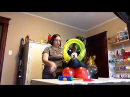 mickey mouse balloon arrangements mouse balloon centerpiece