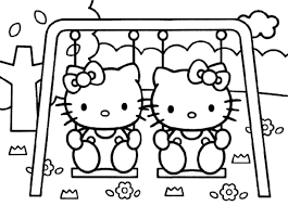 hello kitty coloring pages 04 of 15 u2013 in the zoo hd wallpapers