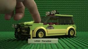 lego jurassic park jeep lego jurassic park tour car youtube