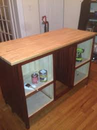 Kitchen Island With Barstools by Ana White Kitchen Island With Bar Stools Diy Projects