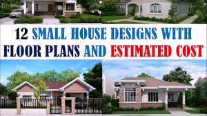 House Design Philippines Youtube Unique Home Floor Plans With Estimated Cost To Build New Home