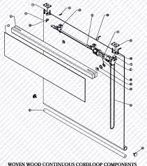 Vertical Blind Replacement Parts Rollershade Parts Schematics