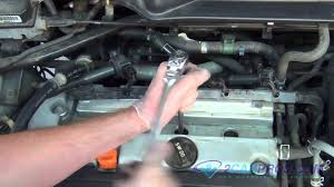 spark plug replacement honda element 2003 2011 youtube