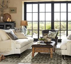 Pottery Barn Living Room Traditional Living Room With Hardwood Floors By Pottery Barn