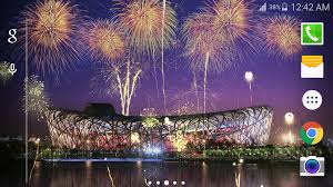 3d fireworks live wallpaper android apps on google play