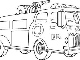 size coloring pagemarvelous fire truck coloring pages