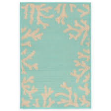 Coral Outdoor Rug Buy Turquoise Outdoor Rugs From Bed Bath U0026 Beyond