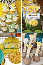 Lion King Baby Shower Cake Ideas - safari inspired lion king baby shower lion king baby shower