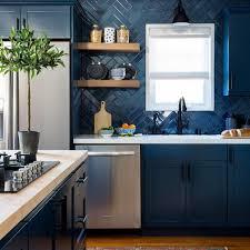 blue maple cabinets kitchen photos hgtv