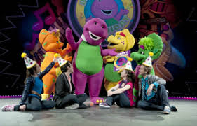 Barney And Backyard Gang Barney The Dinosaur Is Alive And You Can See Him On Stage