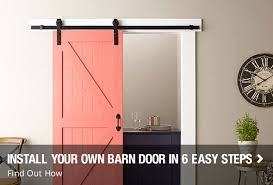 Home Barn Doors by Interior Doors At The Home Depot