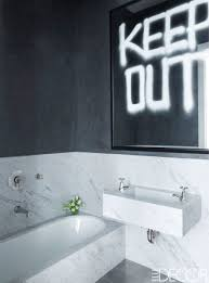 bathroom ideas black design and beige with accent color white
