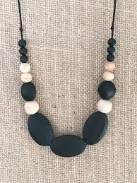 silicone necklace images Chewable silicone teething necklace aglow maternity clothes nz jpg