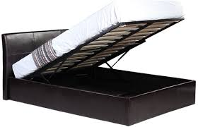 siesta faux leather ottoman storage bed online4furniture co uk